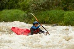 Ποταμός Kayaking Whitewater Στοκ Φωτογραφίες