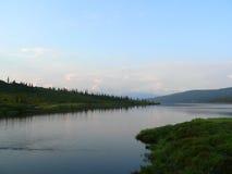 ποταμός kenai στοκ φωτογραφία