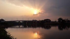 Ποταμός Kok στο σπίτι μου στοκ φωτογραφία