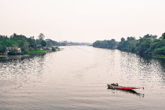 Ποταμός Kwai στοκ εικόνα με δικαίωμα ελεύθερης χρήσης