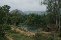 Ποταμός Kwai Στοκ Εικόνες