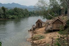 Ποταμός Kwai Στοκ Φωτογραφίες