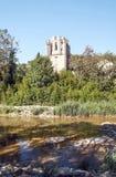 Ποταμός Lagrasse Στοκ Φωτογραφίες