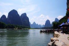 Ποταμός LiJiang Στοκ φωτογραφία με δικαίωμα ελεύθερης χρήσης