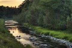 ποταμός lubina Στοκ εικόνες με δικαίωμα ελεύθερης χρήσης