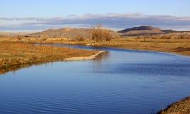 Ποταμός Malheur Στοκ φωτογραφία με δικαίωμα ελεύθερης χρήσης