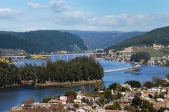 Ποταμός Maule, Χιλή στοκ φωτογραφία με δικαίωμα ελεύθερης χρήσης