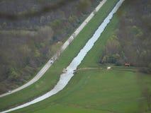 Ποταμός Mirna Στοκ εικόνα με δικαίωμα ελεύθερης χρήσης