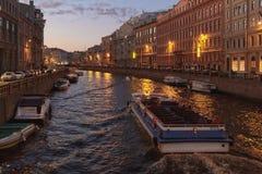 Ποταμός Moika, Αγία Πετρούπολη Στοκ Φωτογραφίες
