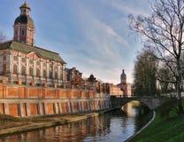 Ποταμός Monastyrka στοκ φωτογραφία