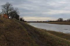 Ποταμός Morava στοκ φωτογραφίες με δικαίωμα ελεύθερης χρήσης