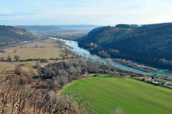 Ποταμός Mures Στοκ Εικόνες
