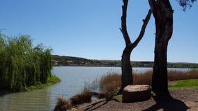 Ποταμός Murray Νότιων Αυστραλιών Mannum Στοκ Εικόνες