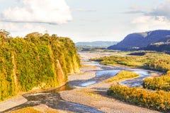 Ποταμός Napo στον Ισημερινό Στοκ εικόνες με δικαίωμα ελεύθερης χρήσης