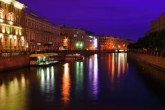 ποταμός neva Στοκ Φωτογραφίες