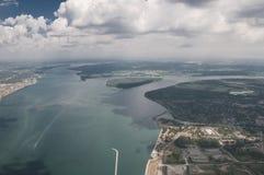 Ποταμός Niagara στον Καναδά Στοκ Φωτογραφία
