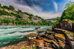 Ποταμός Niagara Στοκ Φωτογραφίες
