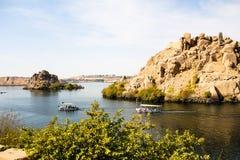 Ποταμός Nilo Στοκ εικόνα με δικαίωμα ελεύθερης χρήσης
