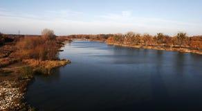 ποταμός odra Στοκ φωτογραφία με δικαίωμα ελεύθερης χρήσης