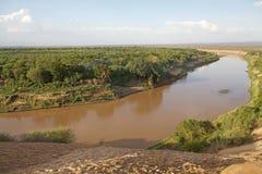 Ποταμός Omo στοκ εικόνες