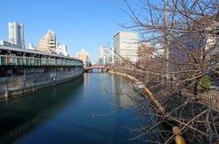 Ποταμός Ooka σε Yokohama Στοκ φωτογραφία με δικαίωμα ελεύθερης χρήσης