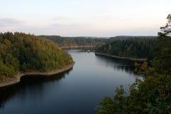 ποταμός otava Στοκ φωτογραφία με δικαίωμα ελεύθερης χρήσης