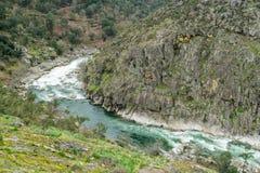 Ποταμός Paiva στοκ εικόνες