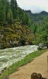 Ποταμός Payette νότιων δικράνων, Αϊντάχο στοκ φωτογραφίες
