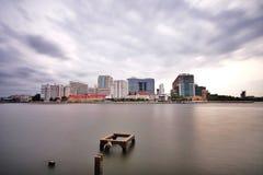Ποταμός Phraya Chao Στοκ εικόνες με δικαίωμα ελεύθερης χρήσης