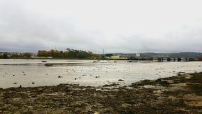 Ποταμός Plym Πλύμουθ Devon UK στοκ εικόνα
