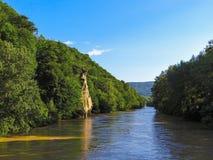Ποταμός Psekups στοκ εικόνα με δικαίωμα ελεύθερης χρήσης