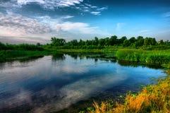 Ποταμός Psel Στοκ Εικόνα