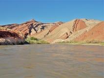 Ποταμός Raplee Anticline του San Juan Στοκ Φωτογραφίες