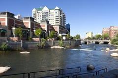 ποταμός reno αρχιτεκτονικής Στοκ Εικόνες