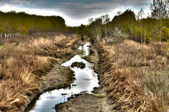 ποταμός s szeg τ της Ουγγαρίας nc Στοκ Φωτογραφία
