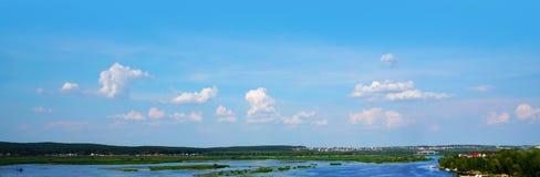 Ποταμός Samara στοκ εικόνες με δικαίωμα ελεύθερης χρήσης