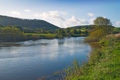 ποταμός severn Στοκ εικόνες με δικαίωμα ελεύθερης χρήσης