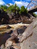 ποταμός ST Lawrence Μινεσότα Στοκ φωτογραφία με δικαίωμα ελεύθερης χρήσης