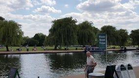 Ποταμός Stratford επάνω σε Avon Shakespeare Στοκ Φωτογραφία