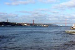 Ποταμός Tagus, Λισσαβώνα, Πορτογαλία Στοκ φωτογραφίες με δικαίωμα ελεύθερης χρήσης