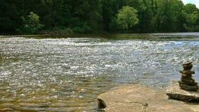 Ποταμός Tahquamenon απόθεμα βίντεο
