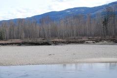 Ποταμός Thompson Π.Χ. Στοκ Εικόνες