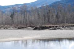 Ποταμός Thompson Π.Χ. Στοκ Φωτογραφίες