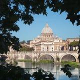 Ποταμός Tiber, Ρώμη - Ιταλία Στοκ Εικόνα
