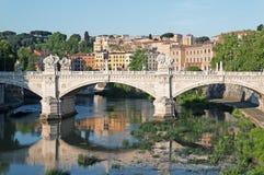 Ποταμός Tiber, Ρώμη - Ιταλία Στοκ φωτογραφία με δικαίωμα ελεύθερης χρήσης