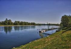 Ποταμός Ticino Στοκ εικόνες με δικαίωμα ελεύθερης χρήσης