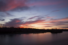 Ποταμός Ticino Στοκ Εικόνες