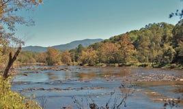 Ποταμός Tuckasegee Στοκ Εικόνες