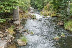 Ποταμός Tumwater Στοκ φωτογραφίες με δικαίωμα ελεύθερης χρήσης
