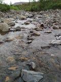 Ποταμός tundra στοκ φωτογραφία